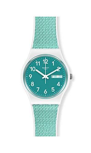 Swatch Reloj Unisex Adulto de Cuarzo analógico con Correa en plástico GW714