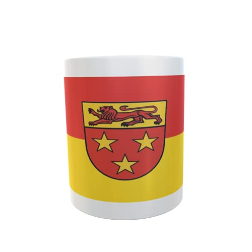 U24 Tasse Kaffeebecher Mug Cup Flagge Donzdorf