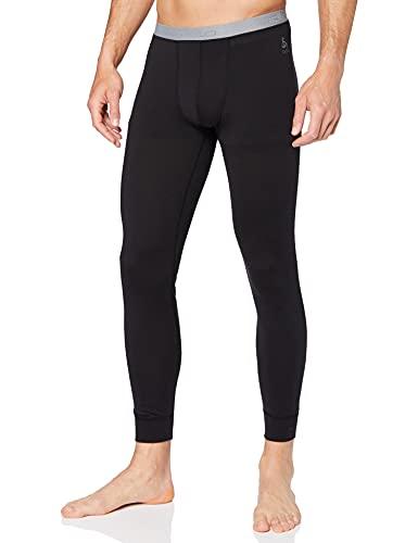 Odlo Herren Unterhose SUW Bottom Pant NATURAL 100% MERINO WARM, black, L, 110832
