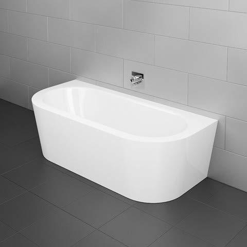 Bette Starlet I Silhouette, 165x75cm, freistehende Badewanne, 8300CWVVK, Farbe: Weiß mit BetteGlasur Plus
