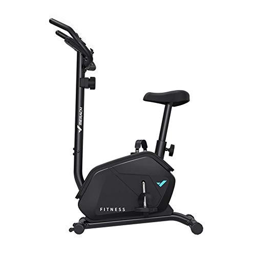 Hometrainer Indoor Cycling voor thuis/sportschoolgebruik met hartslagmeter, LCD-scherm, polssensoren, Super Mute Spinning Bike Cycle Trainer Verstelbare stalen buis Stationaire fiets