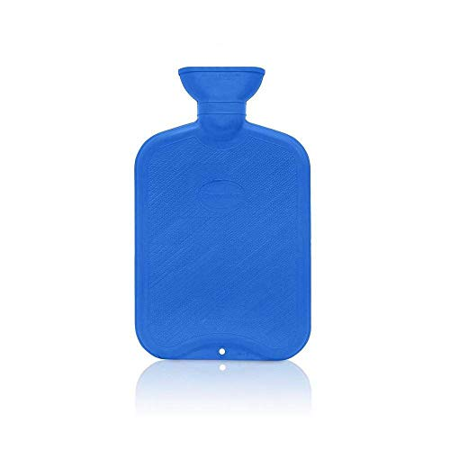 Coronation 1.5 Litres Leakproof Rubber Hot Water Bottle for pain relief (backpain, neckpain, stomachpain etc)