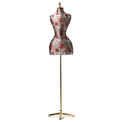 CAIJUN Tienda De Ropa Maniquí, Accesorios De Alta Gama Escaparate Estante De Exhibicion Maniquí De Decoración para Costura De Ropa Mostrar La Forma del Vestido (Color : A)