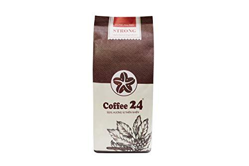 VietBeans Coffee24 STRONG – Hochwertige Kaffeebohnen aus Pleiku – Vietnamesischer Kaffee aus organischem Anbau – Mokka Kaffee Vietnam - 250g