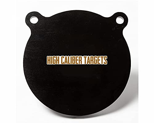 High Caliber AR500 Steel Shooting Targets - Gong, Shilouettes, IPSC, Hooks, Brackets and More 1/2', 3/8', and 1/4' Thicknesses Avaliable - Made in The USA