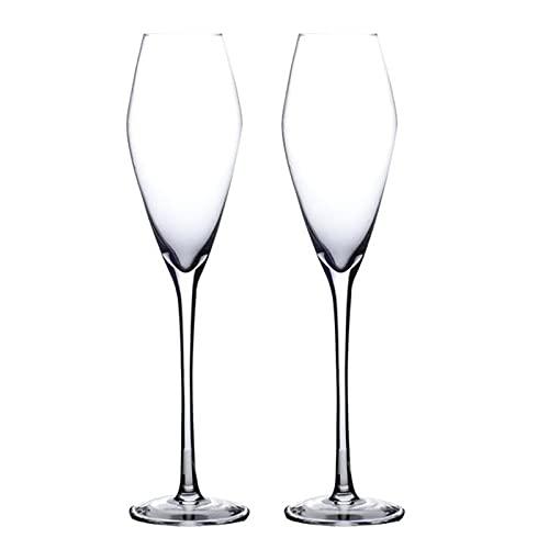 Copas De Champán - Copas De Vino Degustación - Copas De Cóctel, Copas De Vino Tinto De Cristal, Cristalería De Tallo Largo, Juego De Copas De Vino Blanco, 240 Ml