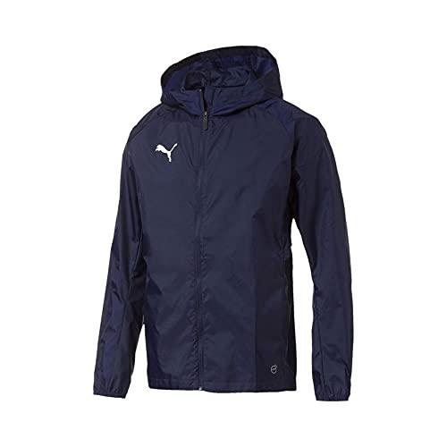 PUMA Liga Training Rain Jacket Core Giacca da Uomo, Uomo, Giacca, 65530406, Caban, 3XL