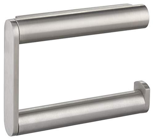 KEUCO Toilettenpapierhalter aus Metall, Edelstahl, offene Form, WC-Rollenhalter für Badezimmer und Gäste-WC, Plan