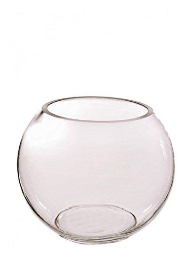 Homestreet - Vaso per pesci in vetro trasparente per uso domestico, per tavolo di matrimonio, in diverse misure 25