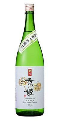 京姫酒造 清酒 純米大吟醸 京姫 純米大吟醸 紫 1.8L瓶 1本 京都府