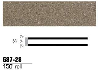 3M™ Scotchcal™ Striping Tape 68728, Pewter, 1/4 in x 150 ft