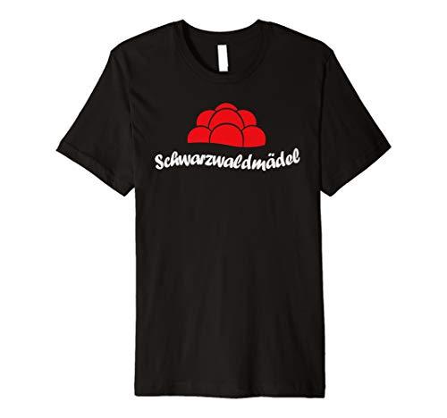 ♥Schwarzwaldmädel Geschenk Bollenhut Schwarzwald Shirt