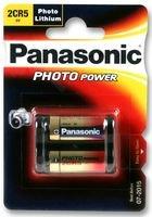Dynamische Leistung PANASONIC - 2CR5M - Foto Batterie, 1 Stück LITHIUM 2CR5 6 V - Foto