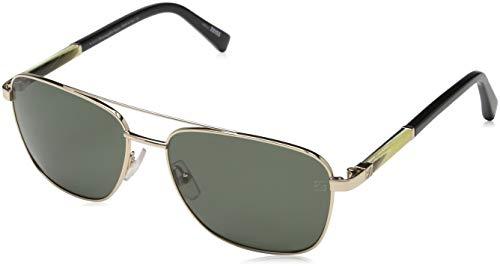 Ermenegildo Zegna Sonnenbrille EZ0014 Gafas de sol, Dorado (Gold), 58.0 para Hombre