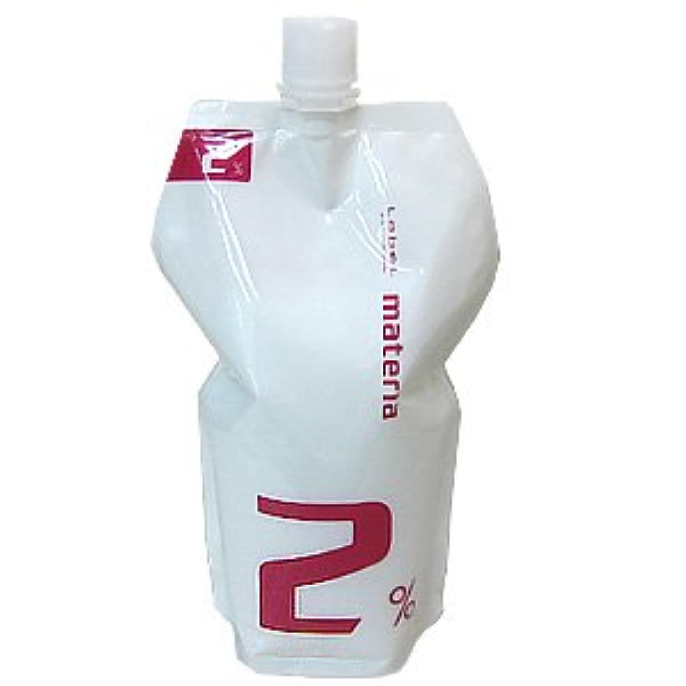 子ハンディ方程式ルベル マテリア オキシ 1000ml (マテリアシリーズ 共通ヘアカラー2剤) 2%