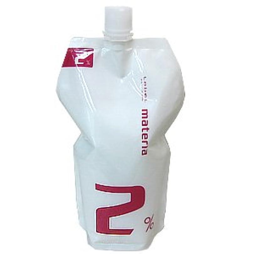 タンパク質無一文結紮ルベル マテリア オキシ 1000ml (マテリアシリーズ 共通ヘアカラー2剤) 2%