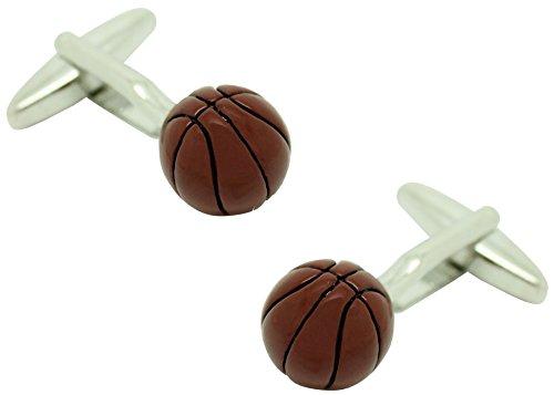 masgemelos Manschettenknöpfe Basketball Ball Cufflinks