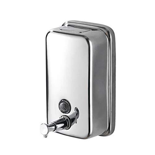 Distributeur de Savon Distributeur de Savon en Acier Inoxydable 500 ML Shampooing pour Les ménages (Taille : 1000ml)