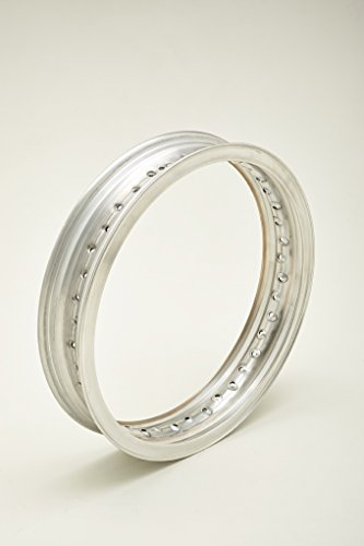 Jante en aluminium avec bord et profil H pour moto d'époque jusqu'aux années 70 WM5 3,00 x 18 36 trous