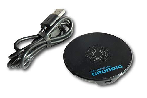 GRUNDIG Qi Schnelllader Kabellos Wireless Ladegerät Lader Ladepad Ladestation 10W 1200 maH