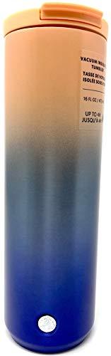 Starbucks Thermobecher aus Edelstahl, vakuumisoliert, 473 ml, Rosa / Blau