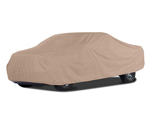 Covermates Outdoor Truck Covers - BlockTite Prime 3 Ply Premium Non Woven - Weatherproof and Breathable - Beige