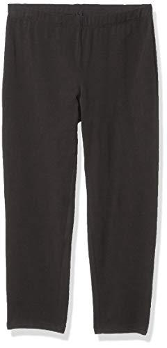 Hanes Women's Stretch Jersey Capri, Black, X-Large