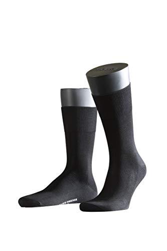 FALKE Herren Socken Firenze - 97{ee4fbf974f6279056a349e333fefb874b631c87d29e807d77b5f6bae5a46e6fc} Baumwolle, 1 Paar, Schwarz (Black 3000), Größe: 47-48
