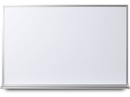 EverWhite Magnetic Aluminum Framed Board with Tray, 4' Height x 8' Length (L7600-4X8)