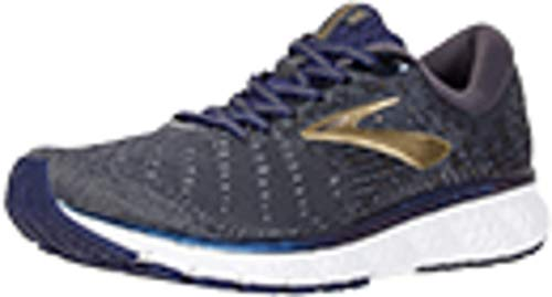 Brooks Men's Glycerin 17, Navy/Gold, 9.5 D