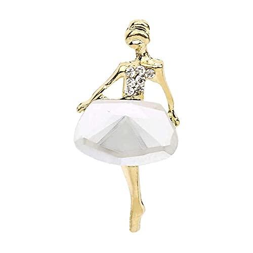 GPWDSN Iusun - Broche de seda para niña, diseño de ballet