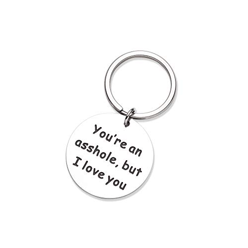 Funny Gift for Husband, Funny Keychain for Him Her, Personalized Christmas Gifts Stocking Stuffers...