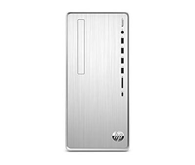 HP Pavilion Desktop Computer, AMD Ryzen 5 3400G, 12GB RAM, 512 GB SSD, Windows 10 (TP01-0040, Silver)