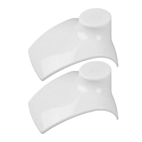 EXCEART 2 Piezas Collar Cadena Joyería Busto Soporte de Exhibición Collares Exhibición Collar Maniquí Joyería Busto Soporte para Escaparate