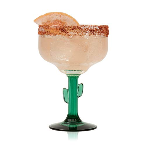 Libbey Cactus Margarita Glasses, Set of 4