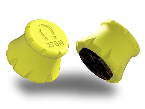 Détecteur Rail Placo® 6 à 25mm - Aimant puissant 27kgf, Repères de marquage au mur, Tampon de protection en feutre