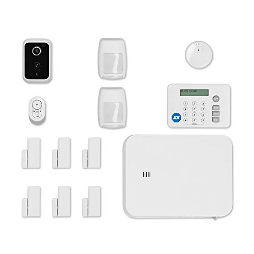 ADT DIY LifeShield 15-Piece Easy, Smart Home Security System - Optional 24/7 Monitoring - Smart...