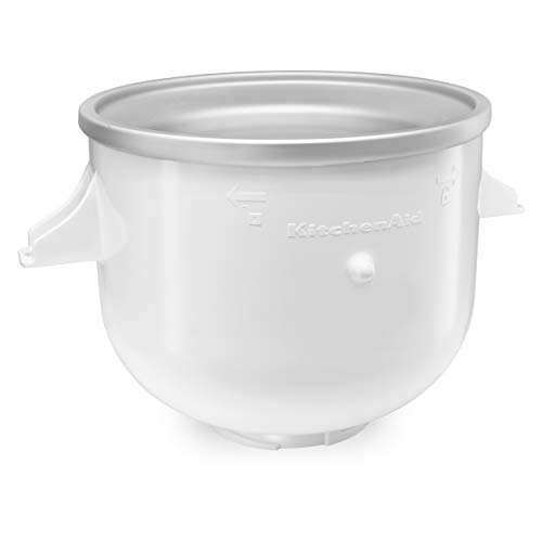 KitchenAid KICA0WH Ice Cream Maker Attachment, White