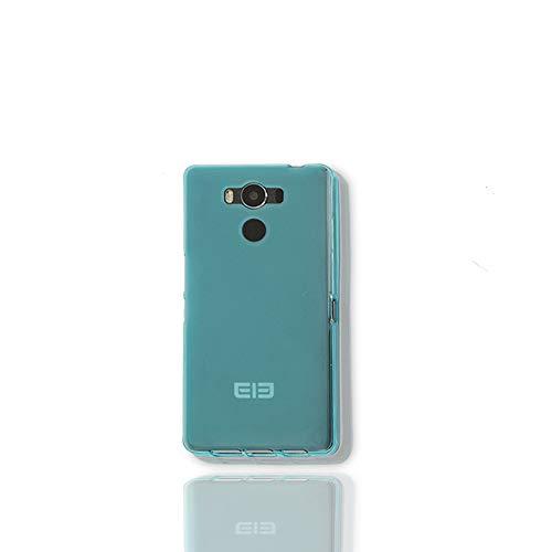 GOGODOG Case Cover Elephone P9000 Funda Carcasas y Fundas Cobertura Total Ultra Delgada Mate Anti Resbalón Rasguño Resistente Cáscara Blanda (Azul)