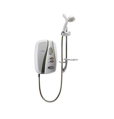 Redring RSELP108S SELP108S Selectronic Premier Standard 10.8kW Electric Shower, White