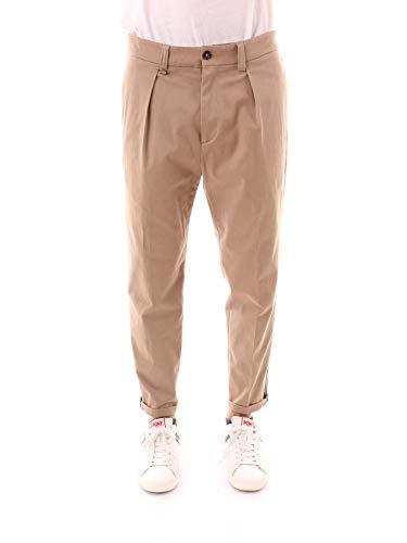 PAOLO PECORA B121 0655 Pantaloni Uomo Fango 50