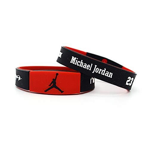 Sport Fans Silicone Wristbands Basketball Bracelet (1)