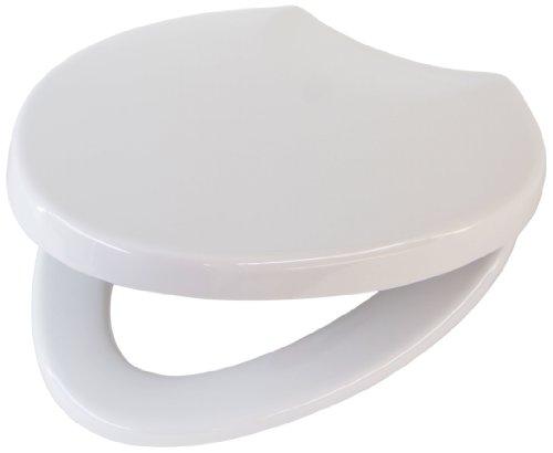 Villeroy & Boch 88466101 WC-Sitz Oblic, Alpin Weiß,