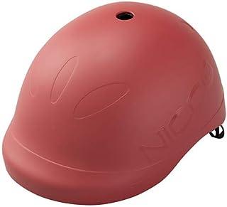 クミカ工業 Nicco ヘルメット ビートル/KM001L/キッズ用/52-56cm/CE/日本製/ハードシェル マットレッド