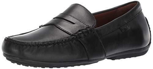 Polo Ralph Lauren Men's Reynold Driving Style Loafer, Black, 10.5 D US