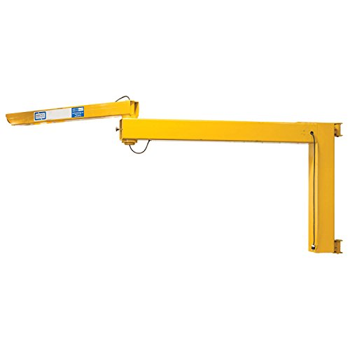 Best Prices! Contrx Medium-Duty Wall-Mount Articulating Jib Crane, 250 Lb. Cap, 16' Span