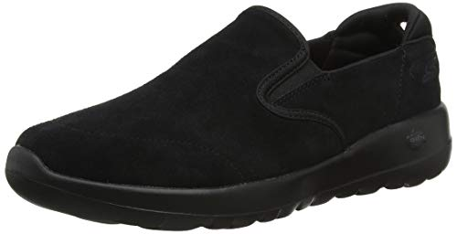 Skechers Damen Go Walk Joy Slip On Sneaker, Schwarz (Black BBK), 38 EU
