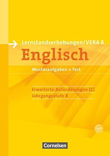Vorbereitungsmaterialien für VERA - Englisch / 8. Schuljahr: Erweiterte Anforderungen - Arbeitsheft mit Audio-Materialien: Arbeitsheft mit Audios ... Englisch)