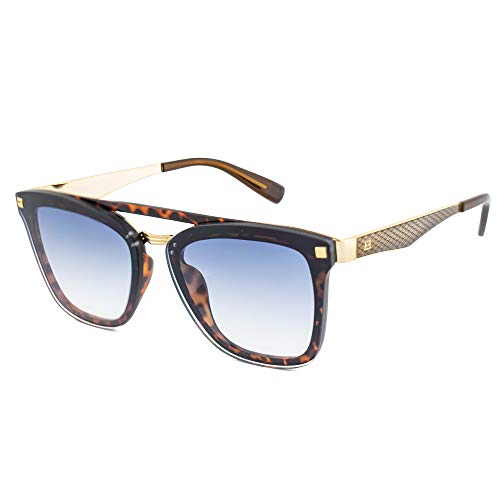 Escada Sunglasses Damen Sonnenbrille, Braun (Shiny Brown Havana)