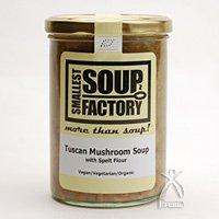 【Smallest Soup Factory】 12 古代エジプトのスペルト小麦とマッシュルームの競演 トスカニアなスープ